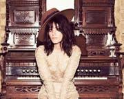 «Ich wollte schon immer eine Platte machen, die mich nach Hause bringt», sagt die Georgierin Katie Melua. (Bild: PD)