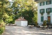 Sommercafé Richard Wagner Museum. (Bild: Roland auf der Maur (Luzern, 13. Juni 2016))