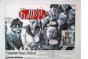 Nostalgisches wie das erste Fumetto- Plakat (1992) gibts im Historischen Museum. (Bild: PD)
