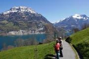 Jedem Schweizer gehören 5 Millimeter vom Weg der Schweiz. (Bild PD / Christian Perret)