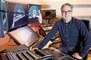 Seit rund einem Jahr ist der Radiosender von André Sidler on air. (Bild: PD)
