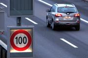 Auf dem Zuger Abschnitt der A14 gibt es die flexible Tempolimite bereits. (Archivbild: Werner Schelbert/ZZ)