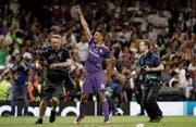 Real Madrids Carlos Casemiro feiert den Champions-League-Finalsieg gegen Juventus Turin. (Bild:)