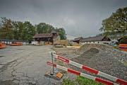 Auf dem Areal Eichwald bei der Luzerner Allmend war ein Asylzentrum mit 120 Plätzen geplant (Archibild) (Bild: Pius Amrein)