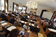 Der Urner Landrat hat am Mittwoch das Budget genehmigt. (Bild: Archiv Neue UZ)