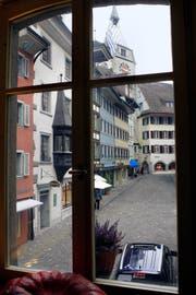 Die Zuger Altstadt soll nicht zur Partymeile werden. (Archivbild Werner Schelbert)