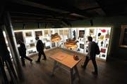 Das Tellmuseum in Bürglen wurde frisch renoviert und wird offiziell am Freitag eröffnet. (Bild: Urs Hanhart / Neue UZ)