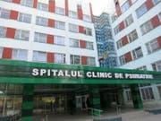 Eingangsgebäude der Psychiatrischen Klinik in Moldawien. (Bild: zvg)