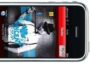 Ein iPhone mit der neuen «Radio Pilatus»-Anwendung. (Bild pd)