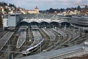 Bahnhof Luzern. (Archivbild Nadia Schärli/Neue LZ)