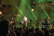 Andreas Gabalier (32) bei seinem Auftritt gestern im Konzertsaal des KKL, Luzern. (Bild: Nadia Schärli (Luzern, 31. März 2017))