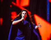 Die Ukrainerin Jamala gewann den Eurovision Song Contest mit einem Lied über die Krim-Tataren. (Bild: Keystone)