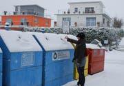 Abfallsünder rauben Anwohnern den Schlaf. (Bild Nadine Ackermann/Neue SZ)