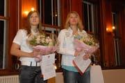 Priska Nufer (l.) und Denise Feierabend. (Bild Geri Wyss/Neue OZ)