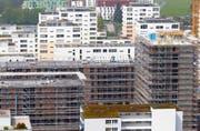 Das Bauvolumen erreicht in der Stadt Zug dieses Jahr einen neuen Rekorwert. (Bild: Stefan Kaiser)