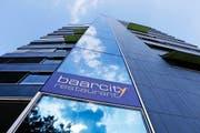 Das neue Restaurant im «Baarcity»-Turm wird den Namen «La Dolce Vita» tragen. (Bild: Stefan Kaiser)