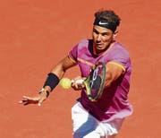 Hat beim French Open in Paris den zehnten Titelgewinn im Visier: der Spanier Rafael Nadal. (Bild: Jose Luis Cuesta/Freshfocus (Madrid, 13. Mai 2017))