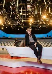 Daniela Milanese wird während der Spiele in Sotschi im Studio Leutschenbach die Stellung halten. (Bild Philipp Schmidli)