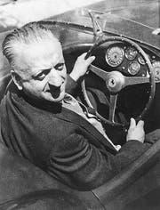 30 Jahre nach seinem Tod beinahe noch entführt: Enzo Ferrari. (Bild: Evening Standard (Hulton Archive))