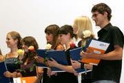 Die PHZ Luzern feiert ihren Abschluss im Gersag. (Bild Chris Iseli/Neue LZ)