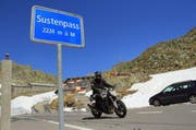 Der Sustenpass ist ab Mittwochnachmittag wieder geöffnet. (Bild: René Meier / Luzernerzeitung.ch)