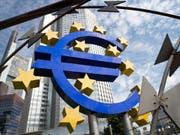 Hält vor der zweiten Wahlrunde in Frankreich die Füsse still: Die EZB hält an ihrer bisherigen Geldpolitik fest. (Bild: Boris Rössler / Keystone)