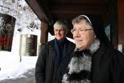 Schwester Fernanda Vogel (links) und Schwester Erasma Höfliger. (Bild Marion Wannemacher)