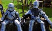 Auch zahlreiche Ritter werden am Mittelalterfest in Zug zu bestaunen sein. (Bild PD)
