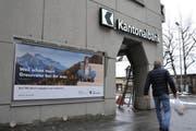 Der Jahresgewinn der Urner Kantonalbank ging 2016 um 1,6 Prozent zurück. (Bild: Urs Hanhart)