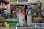 Unser Küchenteam im Einsatz (Bild: Wipfli Adrian)