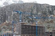 Der Bau- und Hotelkonzern Orascom Development Holding von Samih Sawiris hat einen Verlust in der Höhe von rund 200 Millionen Franken eingefahren. (Symbolbild) (Bild: Keystone/Alexandra Wey)