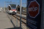 Ein Zug der Zentralbahn beim Bahnhof Giswil. (Bild: Corinne Glanzmann/Neue OZ)
