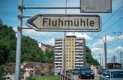 Das Gebiet Fluhmühle muss laut der Stadt dringend aufgewertet werden. Bild: Dominik Wunderli (Luzern, 23. Mai 2017)