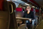 Jeannine Pilloud kümmert sich ausschliesslich um die Branchenentwicklung. (Bild: Patrick B. Krämer/Keystone (Zürich, 4. Februar 2013))