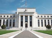 Der Hauptsitz der amerikanischen Notenbank Federal Reserve in Washington. (Bild: J. Scott Applewhite/AP (25. April 2014))