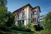 Die Villa Hofstetter an der Baldeggerstrasse in Hochdorf. (Archivbild Pius Amrein)