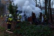 40 Personen der Feuerwehr Stadt Luzern waren im Einsatz