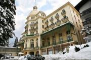 Das ehemalige Hotel Sonnenberg in Seelisberg. (Bild Manuela Jans/Neue LZ)