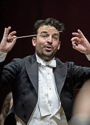 James Gaffigan, Chefdirigent des Luzerner Sinfonieorchesters. (Bild: Pius Amrein)