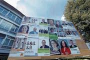 Welche Geldgeber stehen hinter einem Wahlkampf und wer hat wie viel Budget zur Verfügung. Darüber will die SP Auskunft. (Bild: Werner Schelbert (Cham, 28. August 2014))
