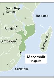 Mosambik Karte.Mosambik Folgt Auf Den Bürgerkrieg Der Terror Luzerner Zeitung