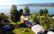 Der TCS Camping Sempach liegt idyllisch gelegen direkt am Sempachersee. (Bild: PD/Camping.info)