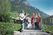 Einige Jungtalente der Musikschule Uri. (Bild: Corinne Glanzmann (Alpnach, 14. August 2017))
