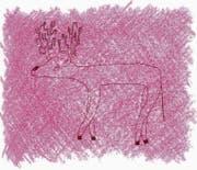 Der Hirsch – das alter Ego des Autors? Bild: Semi Eschmamp/PD