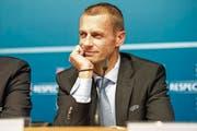 Hat viele Erwartungen geweckt: Uefa-Präsident Aleksander Ceferin. (Bild: Leo Duperrex/Keystone (9. Dezember 2016))
