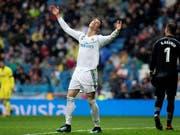 Wieder keine Sieg für Real Madrid und Cristiano Ronaldo (Bild: KEYSTONE/EPA EFE/RODRIGO JIMENEZ)