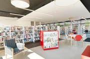 Auch ausserhalb der Bildung stellt Ebikon neue Angebote zur Verfügung: Im Gebiet Riedmatt etwa hat die Bibliothek Ebikon zentrale und grosszügige Räume erhalten. (Bild: pd)