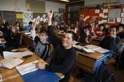 Die Schule Buttisholz integriert seit 2006 Schüler mit Lernbehinderung in ihre gewöhnlichen Klassen. (Symbolbild) (Bild: Archiv / Neue LZ)