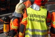 Die Feuerwehr im Einsatz. (Symbolbild) (Bild: Archiv UZ)