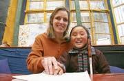 Sabriye Tenberken, selber seit ihrem 12. Lebensjahr blind, will tibetischen Kindern ein selbstständiges Leben ermöglichen. (Bild: PD)